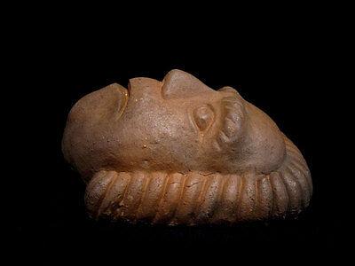 Beautiful Terracotta Post Mortem Mask Of A Roman Patrician, Replica!!! 3