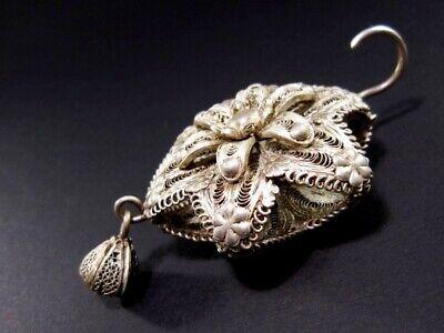 Vintage Silver Filigree Master Piece Large Medallion-Pendant!!! 6