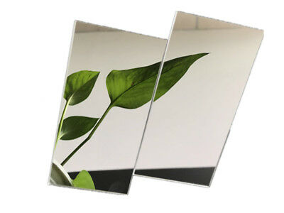 594 x 420mm 3 pcs of Acrylic Mirror Sheet Perspex Plastic Panel 3mm thick A2