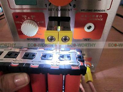 1.9KW 110V 60A LED Dual Pulse Spot Welding Welder Battery Charger +Foot Pedal 7
