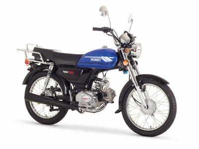 ROMET  OGAR  202  Moped 50 ccm  E 4 fahrfertig montiert 3