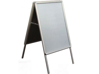A1 A-BOARD PAVEMENT SIGN POSTER SNAP FRAME DISPLAY STAND ADVERTISING BOARDS NEW