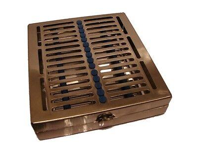 Dental Cassette Rack for Sterilization of 15 Instruments - NEW