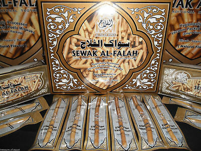 20 Natural Herbal Toothbrush Vacuum Sealed Sewak Siwak Meswak Arak Peelu Miswak 5