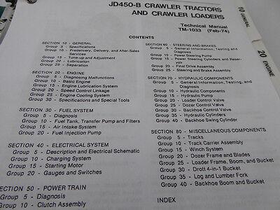 John Deere Jd450b Crawler Technical Service Repair Manual Book 450b. 2 Of 8 John Deere Jd450b Crawler Technical Service Repair Manual Book 450b. John Deere. John Deere 450j For The Hydraulic System Schematics At Scoala.co