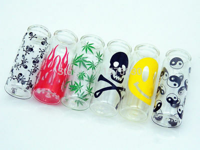 NEW Mini Small Glass Water Smoking bottle mini hookah pipe shisha tobacco 6