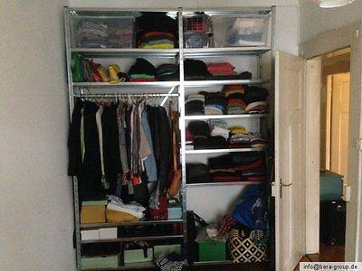 begehbarer kleiderschrank schuhschrank garderobe kleiderregal kleider schrank eur 119 99. Black Bedroom Furniture Sets. Home Design Ideas