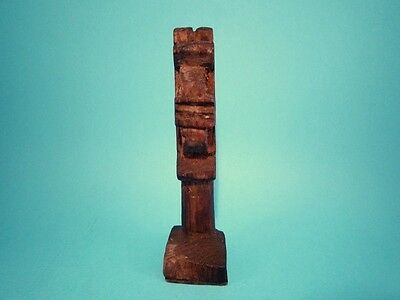 ORIGINAL RARE ANTIQUE 1800's. WOODEN CROSS BREAD PROSPHORA STAMP!!!' 4