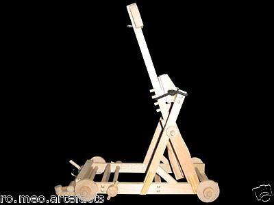 Katapult Mangonel Modell 2 Gebr Ochschim RO mEO Artefacts® Belagerungsgerät