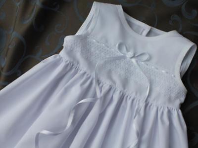 Taufset 4-tlg. Taufkleid Gr 100 /% Baumwolle Baby* Mädchen 56-86