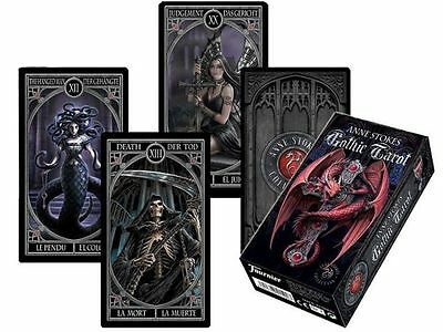 Anne Stokes Gothic Tarot Cards Deck Fantasy Art By Fournier Made In Spain 2