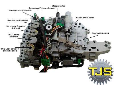 CVT JF011E RE0F10A F1CJA Transmission Line Pressure Control
