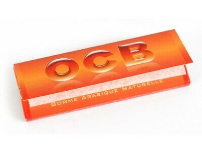 OCB Rolling Papers Regular Orange 50 Booklets Full Box 2
