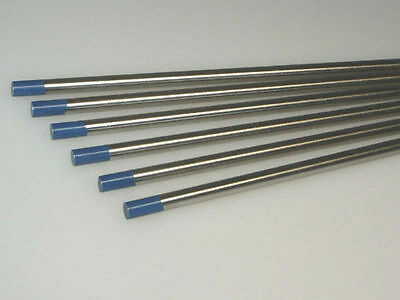 "10-pk TIG Welding Tungsten Electrode 2% Lanthanated Blue 3/32""x7"" US Seller Fast 3"