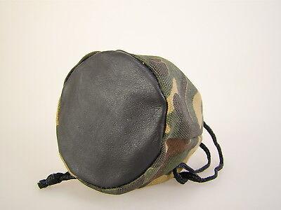 Moderner Camouflage Canvas Tabakbeutel Zugbeutel mit Gummifutter
