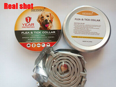 DEWEL Seisso Flea And Tick Control Collar for Medium Large Dog 1 Year Protection 2