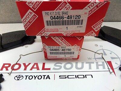 For Front /& Rear Disc Brake Pads Kit Genuine for Toyota Highlander 2008-2013
