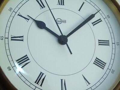 All Brass Barigo Germany Ships Boat Yacht Marine Quartz Clock Deck Watch 2