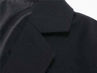 Mens Suit Coat Fashion Slim Formal Business One Button Blazer Jacket Tuxedo Tops 11