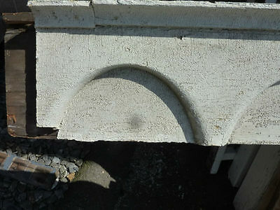 "c1870-80 VICTORIAN gingerbread PORCH header pediment 82.5 x 9.75 x 4 3/8"" 4"