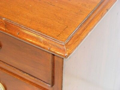 Good Quality Antique 19Th Century Mahogany Chest Of Drawers 7