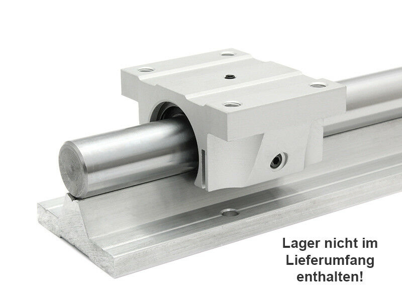 Guida lineare supported Rail sbs12-150mm lungo