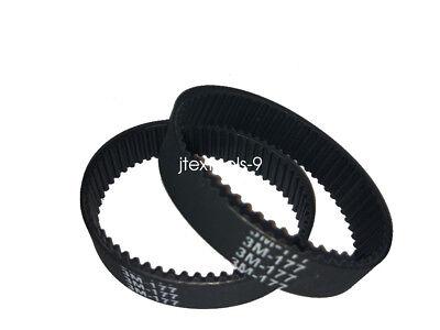 2 x Planer Drive Belt 324830-02 For Black & Decker DeWALT 7696 Types 6 & 7 KW715