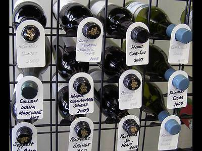 Wine Bottle Neck Tags - 100 Tag Pack 3