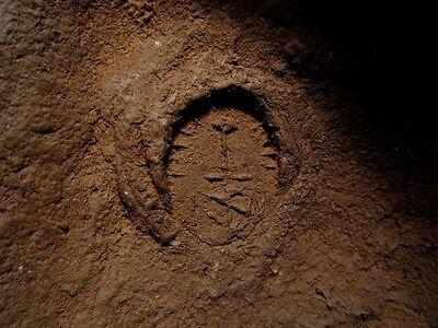 Beautiful Terracotta Post Mortem Mask Of A Roman Patrician, Replica!!! 6