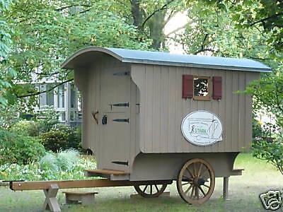 Schäferwagen, Zirkuswagen, Wohnwagen, Waldkindergarten, Gartenhaus, Ferienhaus 6