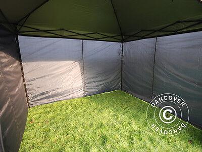 Tente Pliante Tonnelle Barnum Pliable 3x3 m Chapiteau Tente de Réception jardin 3