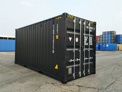 20' New Shipping Container / 20ft One Trip Shipping Container in Miami, FL 4