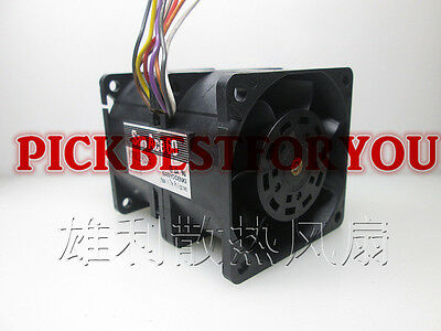 1pcs Sanyo 9CR0612P0S05 6076 3.2A speed powerful cooling fan #M3774 QL 2
