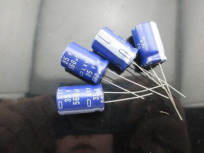 5pcs 560uF 35V 12.5x15mm NCC W Series  35V560uF Electrolytic Capacitor