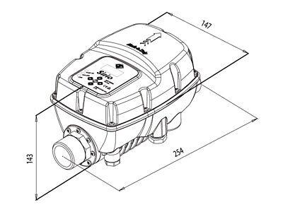 Dispositivo elettronico Sirio Entry 2.0 230V Inverter elettropompe Italtecnica 2