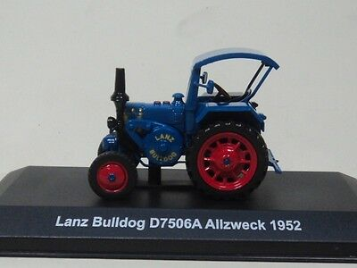 Lanz Bulldog D7506A 1952 magasine TR57 HACHETTE 1:43 New in packaging!