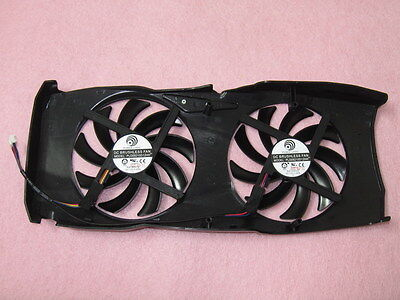 Fan Replacement for PowerColor R9 280X HD7950 HD7970 4Pin PLD09210D12HH M1982 QL 2
