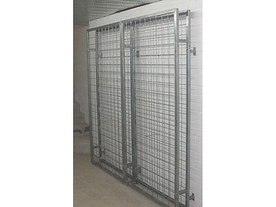 Galvanised Steel Metal Wine Storage Rack 200 Bottles 4