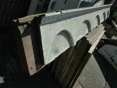 "c1870-80 VICTORIAN gingerbread PORCH header pediment 82.5 x 9.75 x 4 3/8"" 3"