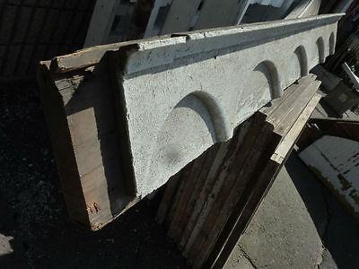 "c1870-80 VICTORIAN gingerbread PORCH header pediment 82.5 x 9.75 x 4 3/8"" 3"