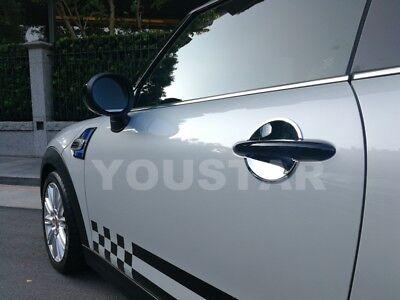 USA STOCK x2 CHROME Door Handle Bucket Cup Inserts MINI Cooper S R50 R53 R55 R56
