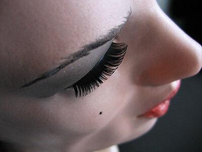 Latexmaske EMILIA +WIMPERN - Real. weibliche Frauenmaske Gesicht Crossdresser 4