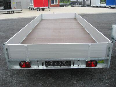 Hulco 3,0to. PKW Anhänger Hochlader 5,02x2,03x2,0m Neu 7