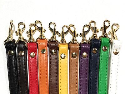 1.2cm*120cm Handbag Cross Body Shoulder Bags Strap PU Leather Handle Replacement 2
