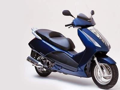22381 per Honda Pantheon 125-2003 Paravento Faco + Attacchi 78 x 64 cm