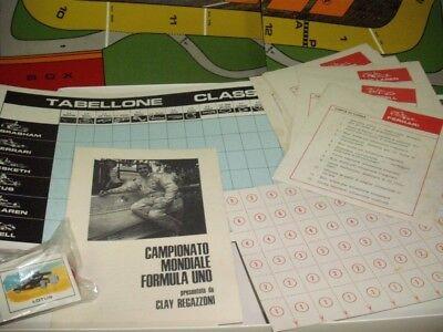 Salani Regazzoni Meisterschaft Welt Formel 1 Ferrari Lotus-Brabham Mc Laren