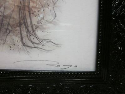 Angel Wings by Luis Royo New Hand Signed Limited Edition Print FRAMED.