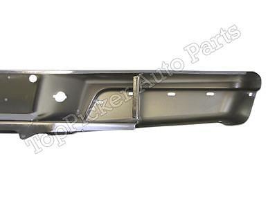 FOR 97-04 Dodge Dakota Rear Step Bumper Bar Chrome W//License Panel Oem Type