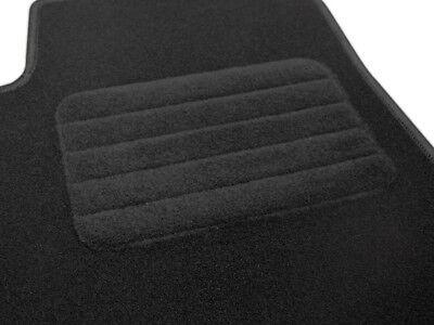 2001-2009 Velours schwarz Fußmatten passend für JAGUAR X-Type Bj