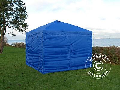Tente Pliante Tonnelle Barnum Pliable 3x3 m Chapiteau Tente de Réception jardin 7